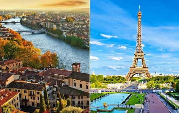 تور تابستانه دور اروپا